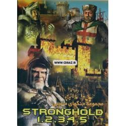 مجموعه بازی های جنگ های صلیبی قلعه 1 2 3 4 5